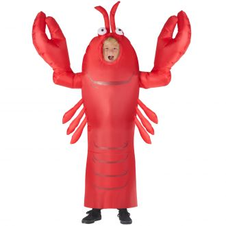 Kids Inflatable Giant Lobster Costume